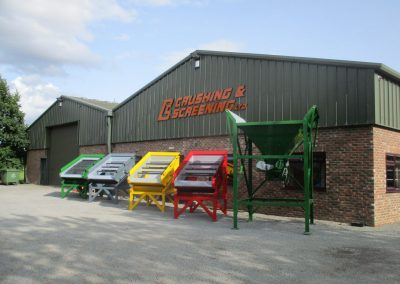 Compact Screens and Bagging Hopper, Crushing & Screening LTD