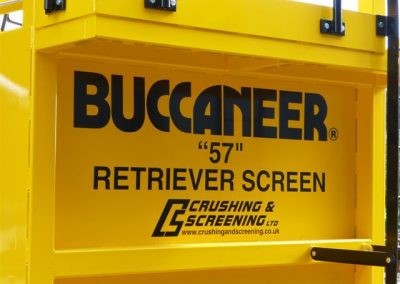 Buccaneer Retriever Screen