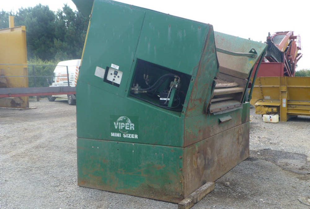 Used machines for sale - Viper Mini Sizer