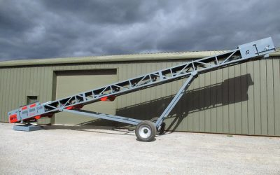 New Conveyor from Crushing & Screening Ltd in Thirsk