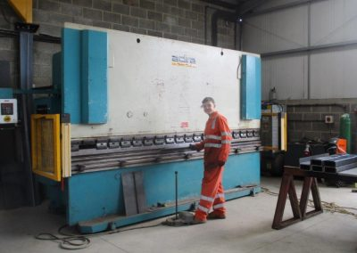 George being show the 150t press brake