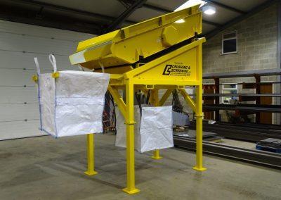 Compact Screen used for recycling compost