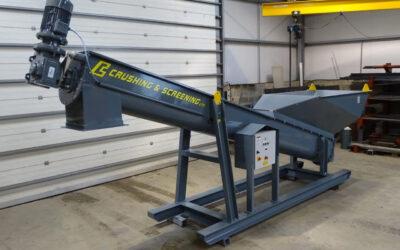 Electric Drive Screw Conveyor
