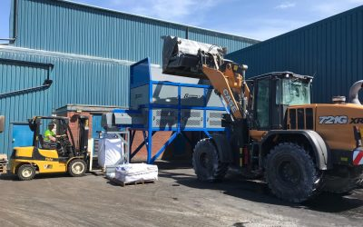 Another purpose design Bulk Hopper sale for Roy Hatfield's of Rotherham